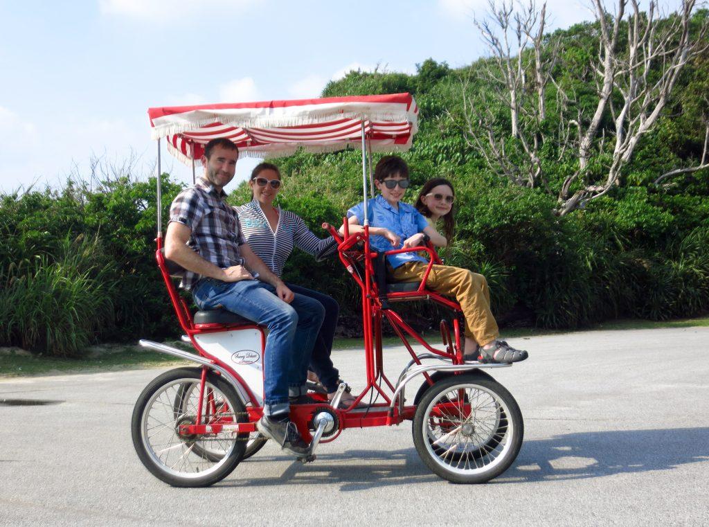 Four person bike