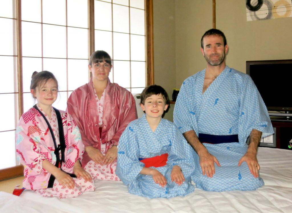 Kid friendly ryokan in japan