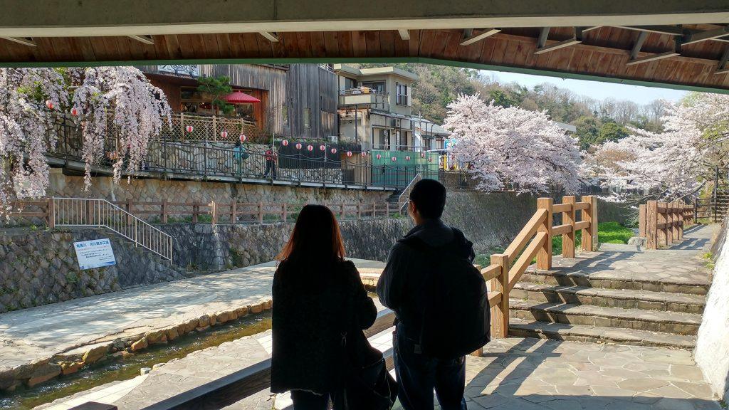 Springtime in Arima Onsen
