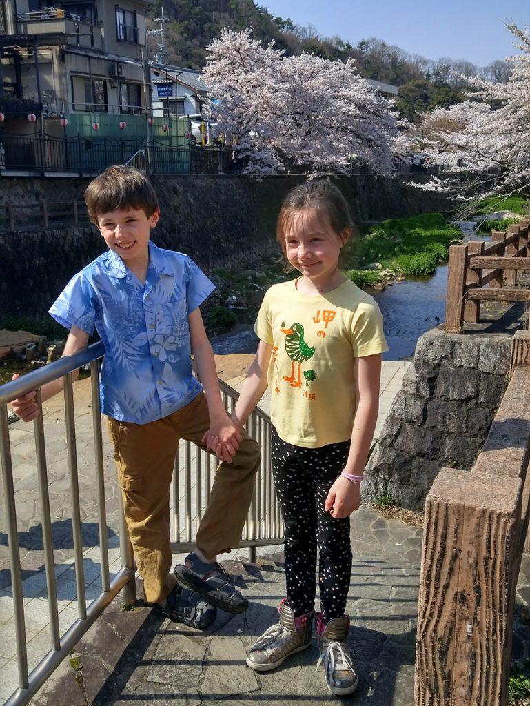 River walk Arima Onsen