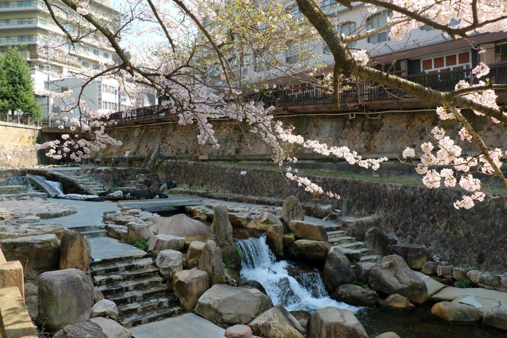 Waterway in Arima Onsen